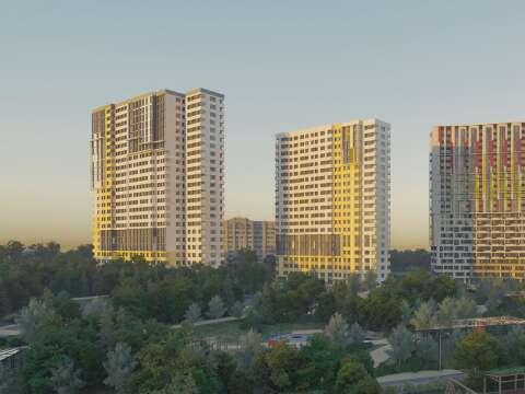 Жилой комплекс бизнес-класса «Новая Звезда» Квартиры от 3,9 млн рублей в